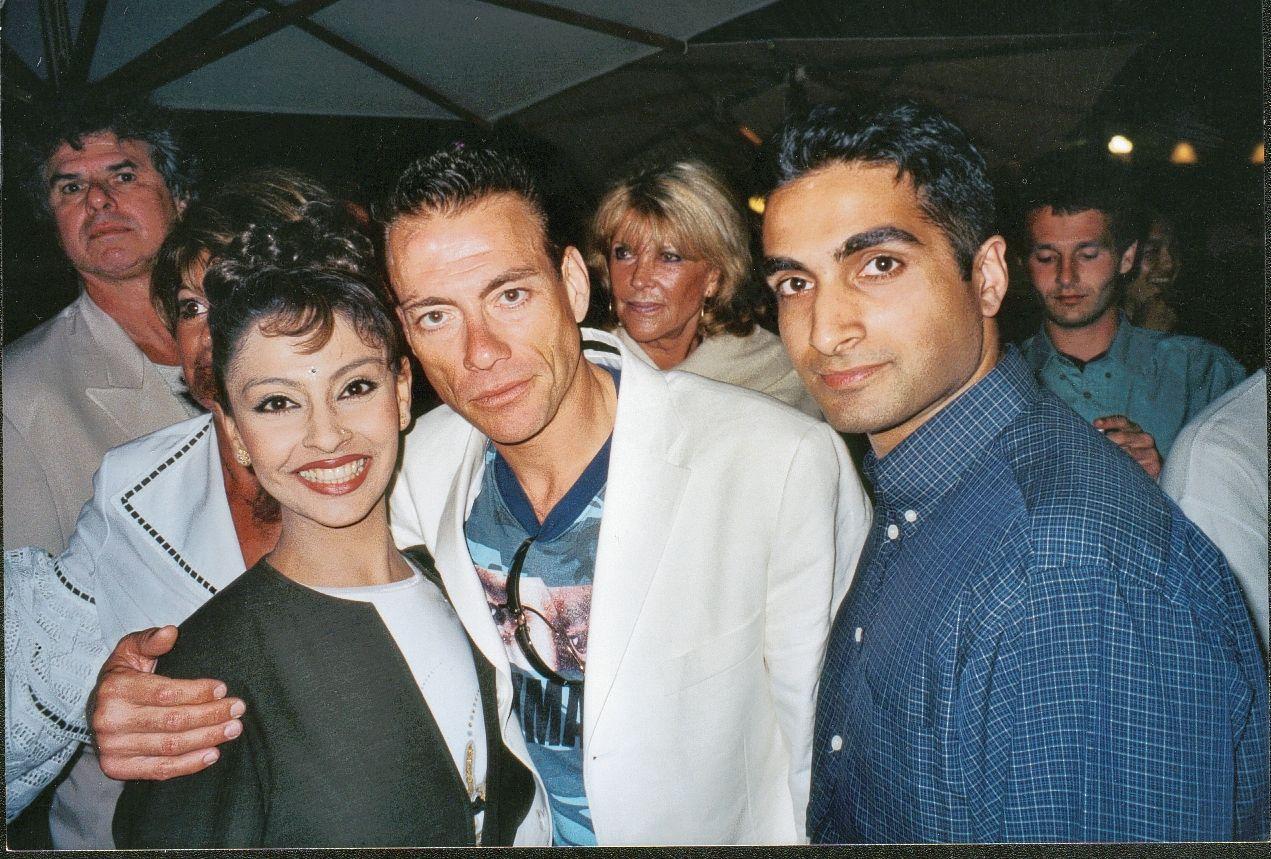 Me and Jean Claude Van Damme with  http://www.honeysdanceacademy.com/