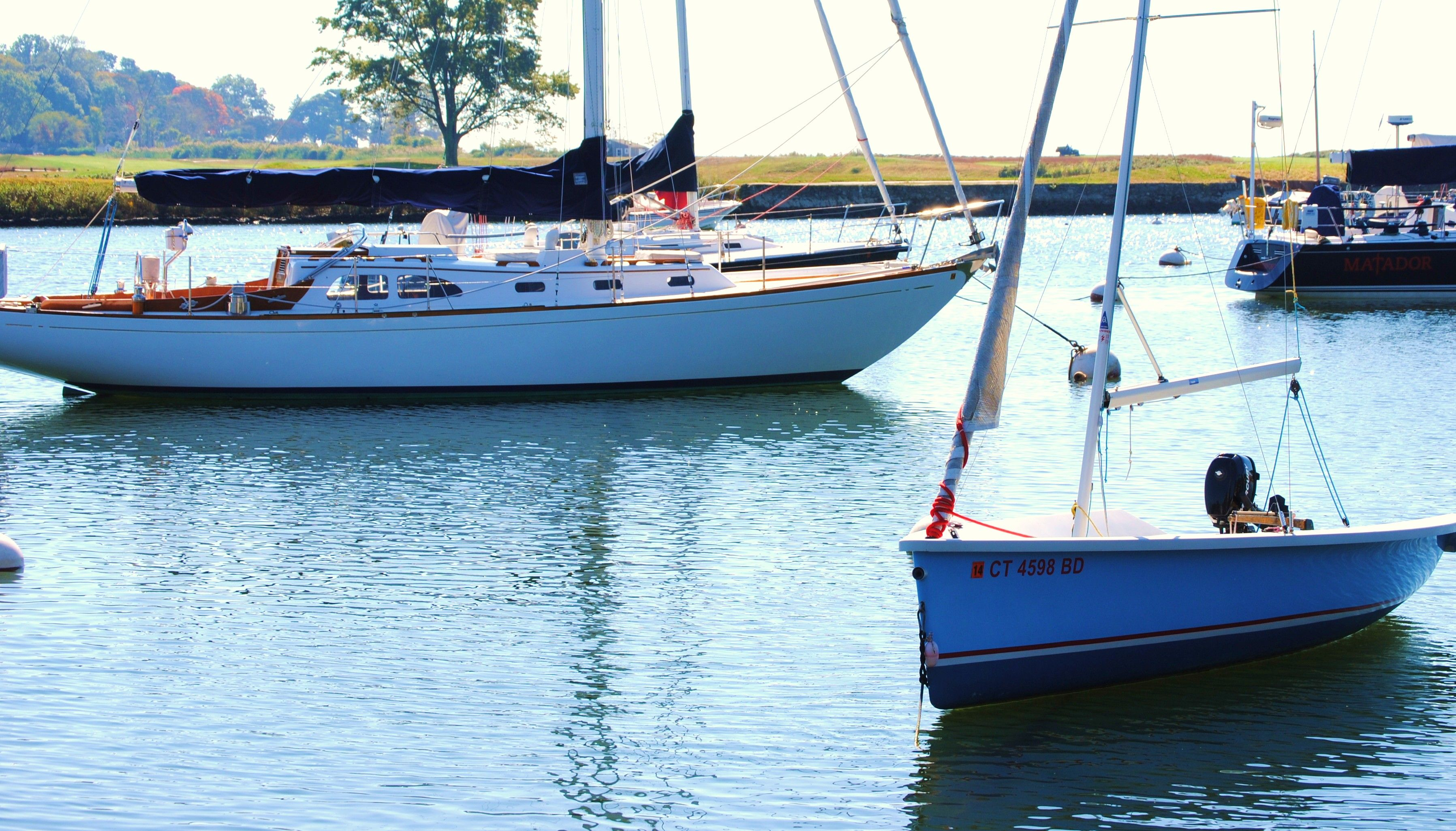 Southport Harbor. Southport, Boat, Harbor
