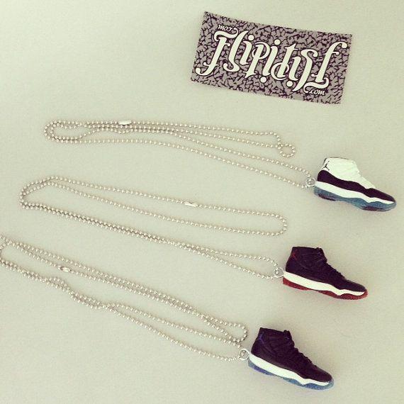 nike air jordan necklaces