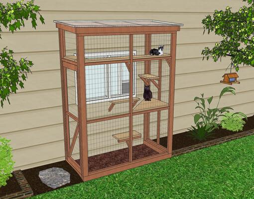 2017-06-21.png (510×399)   Outdoor cat enclosure