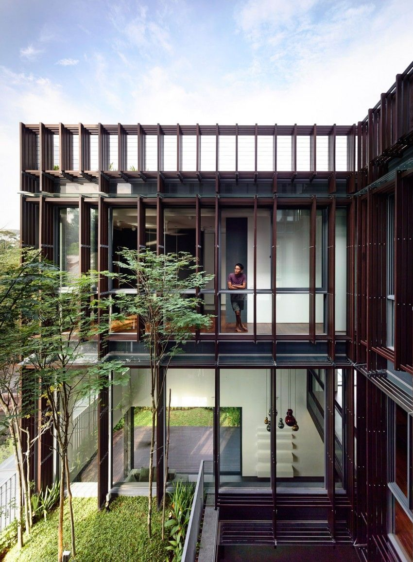 Vertical Court By Hyla Architects Architecture Architecture Design Architecture Exterior