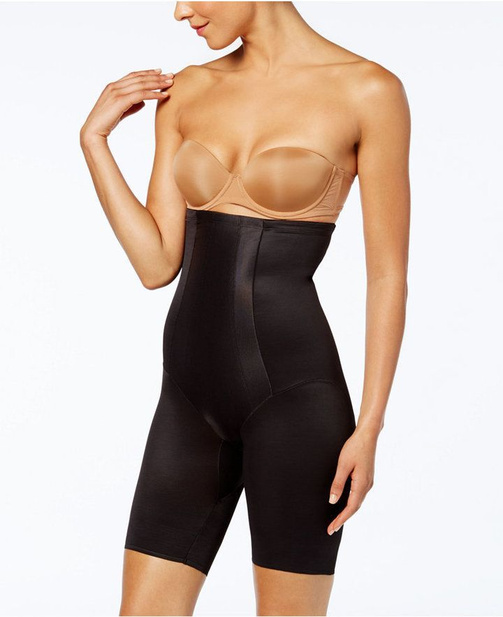 35b0c85c99c9 Miraclesuit Extra Firm Tummy-Control Shape with an Edge High Waist Thigh  Slimmer 2709