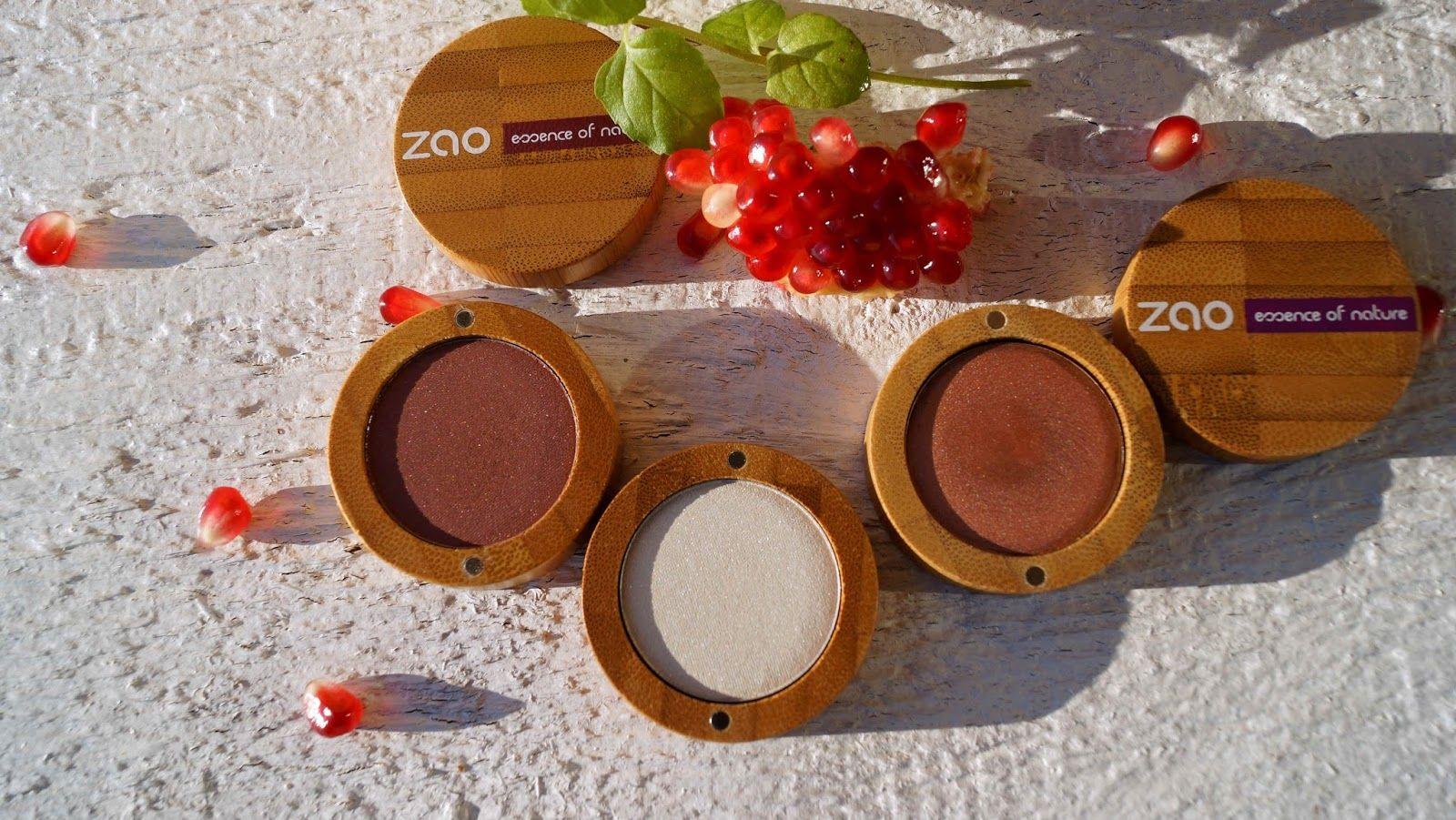 ZAO Essence of Nature Cream eye shadow №251, 101, 104