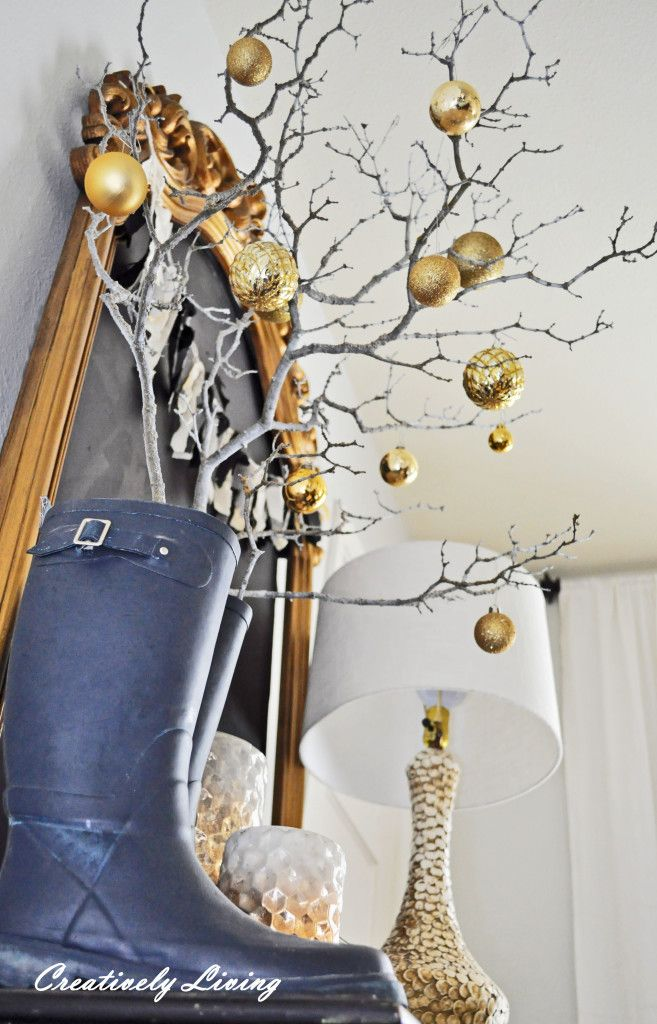 Make a Christmas Branch Tree….for free!