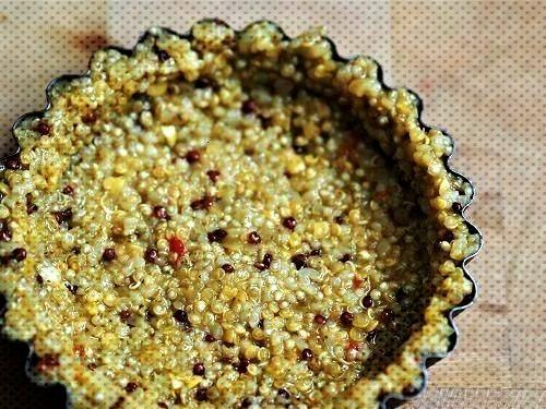 Two-ingredient quinoa savory pie dough - My Parisian Kitchen - Healthy recipes -