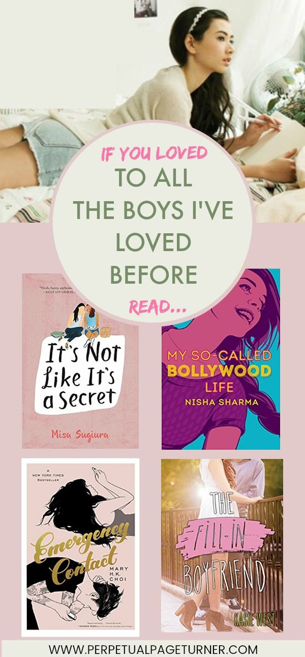Looking for books to read after finishing To All The Boys I Loved Before? Check out this book list perfect for fans of the books and the movie!
