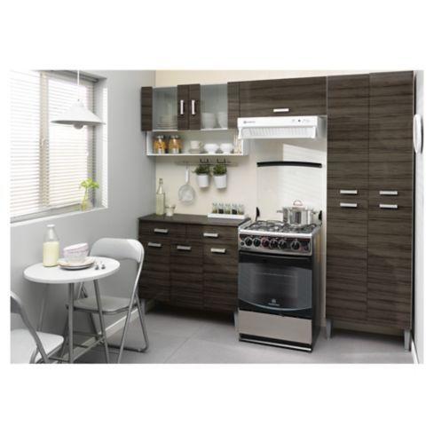Kit mueble cocina 220x201x36 cm Parana | Muebles de cocina ...