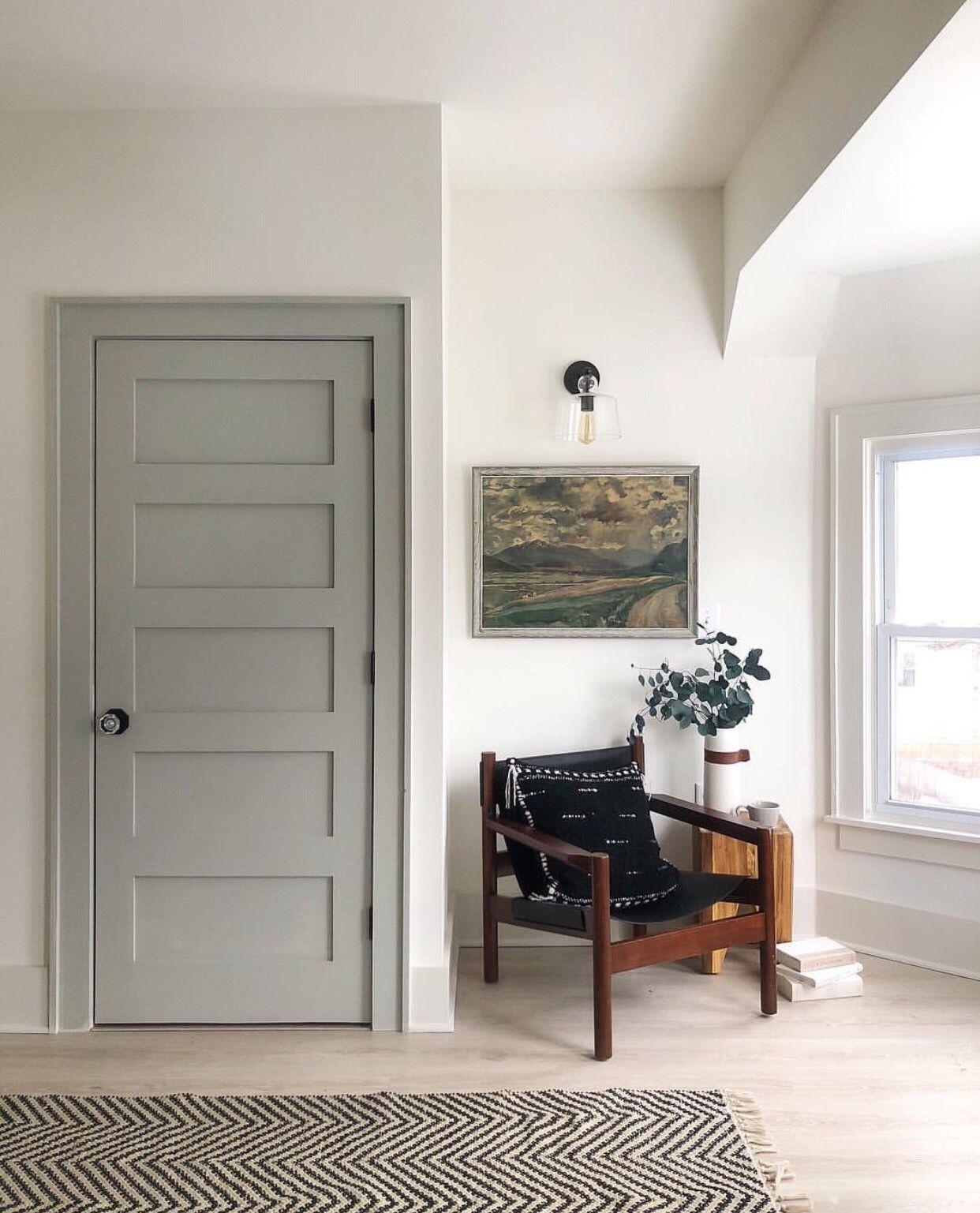 Pin Insta F O R T A N D F I E L D Cozy Reading Corner Chair Vintage Oil Painting Interior Paint Combinations Doors Interior Grey Interior Doors