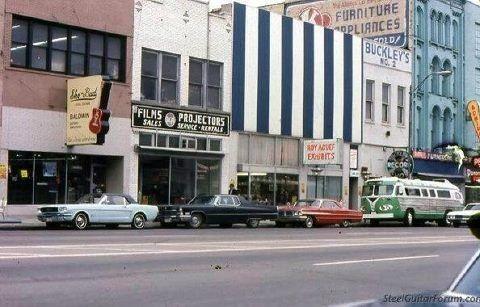 Lower Broadway In Nashville Tn 1960 S