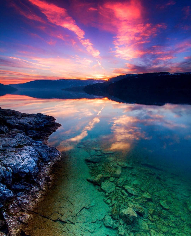 Beautiful Kalamalka Lake Provincial Park in Vernon. Photo