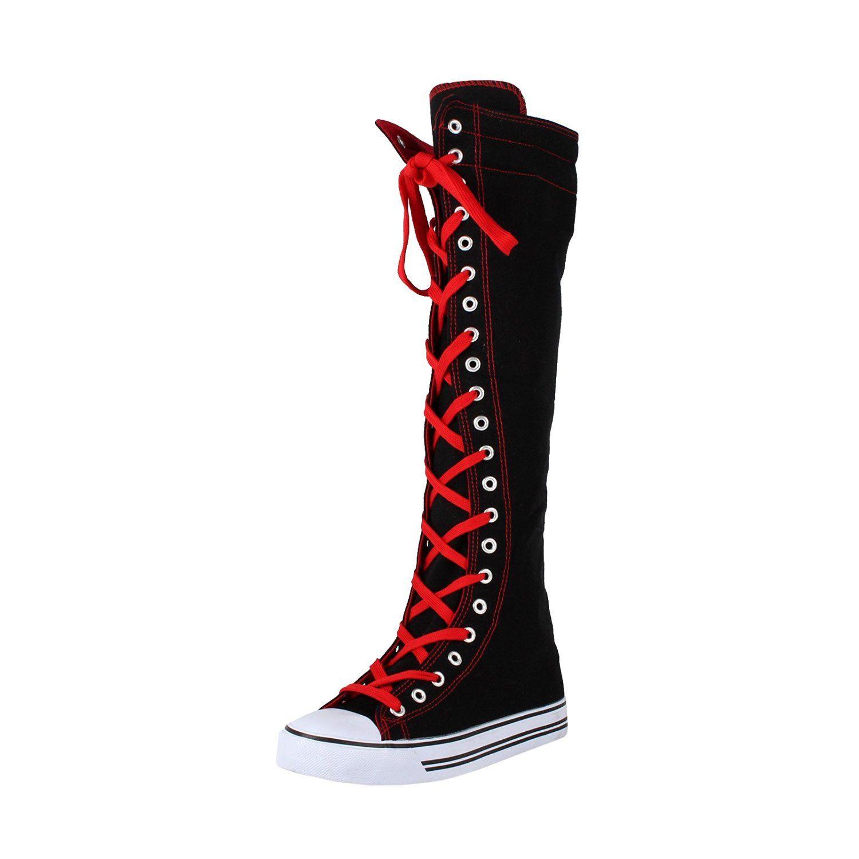 Sneaker boots, Knee high sneakers