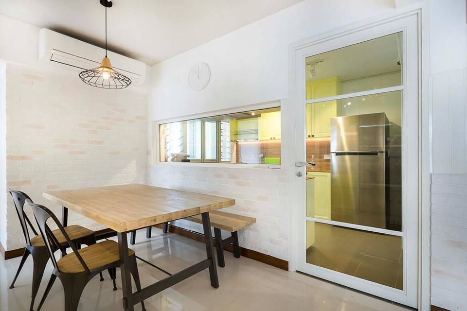 8 Ways to do a Semi-Open Kitchen in your HDB | Semi open ...