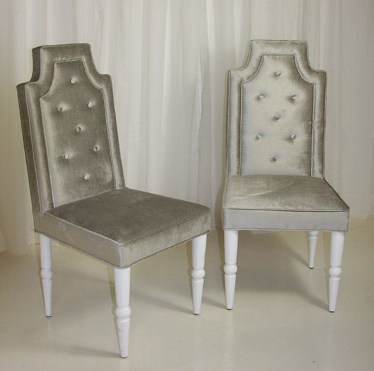 Silver Dinning Chairs