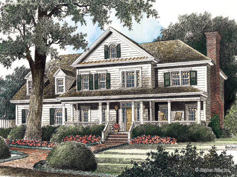 house plan - southwind - stephen fuller, inc. | buying, building