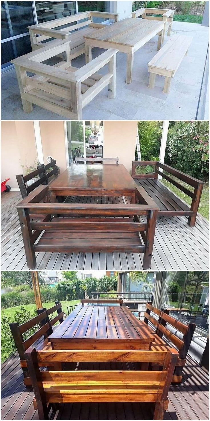 Fantastic Ways For Wood Pallets Recycling Meuble Exterieur
