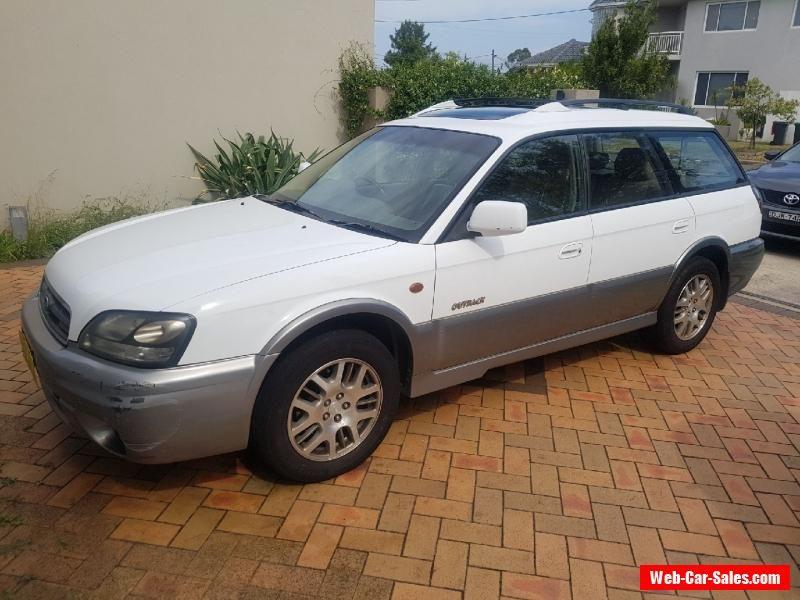 NO RESERVE Subaru Outback 2002 H6 Luxury Sport Auto