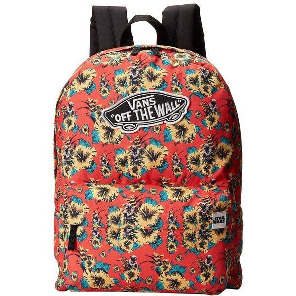 Super Qualität Turnschuhe für billige ungleich in der Leistung Vans Star Wars Backpack ($43) found on Polyvore | backpacks ...