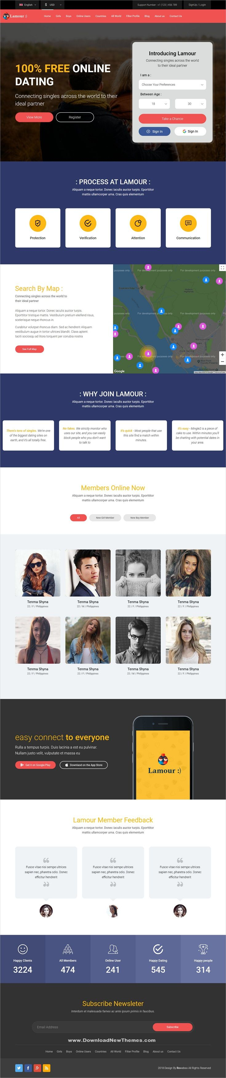 Html5 dating website