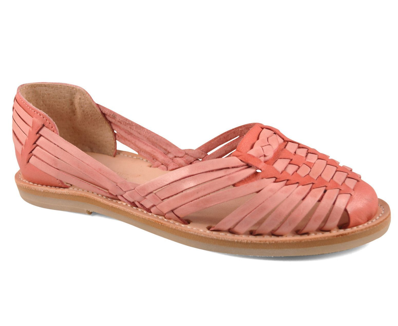 Handmade Huarache 114 Salmon | Products | Huaraches
