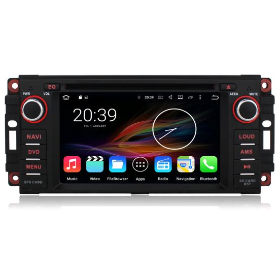 "Vehicle Stereo Gps Navigation For Chrysler 300c Jeep Dodge: 6.2"" Android Autoradio Car Stereo GPS Head Unit Chrysler"