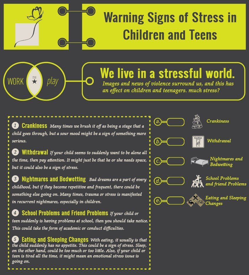 Signs of teen stress