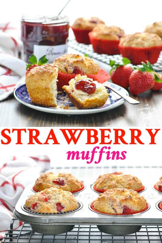 Strawberry Muffins Recipe Strawberry muffins