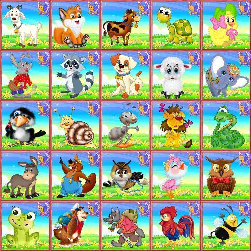 Картинки для оформления шкафчиков в садике