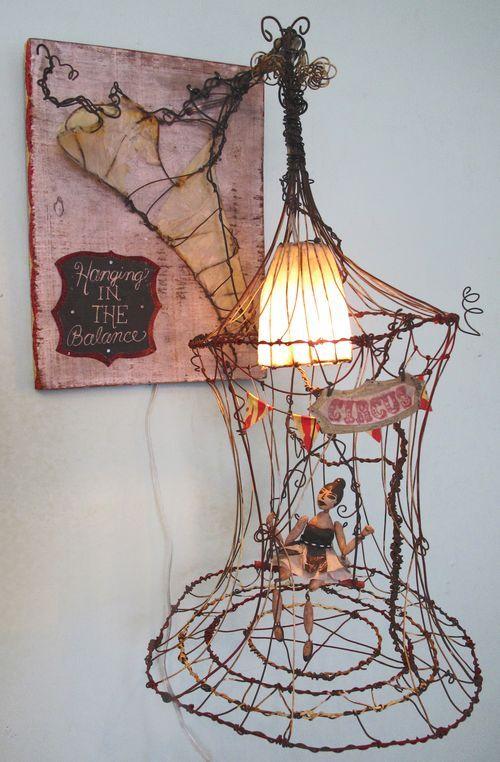 Tammy Smith Wire Art Wire Crafts Assemblage Art