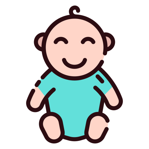 Baby Boy Free Vector Icons Designed By Good Ware Free Icons Vector Free Baby Girl