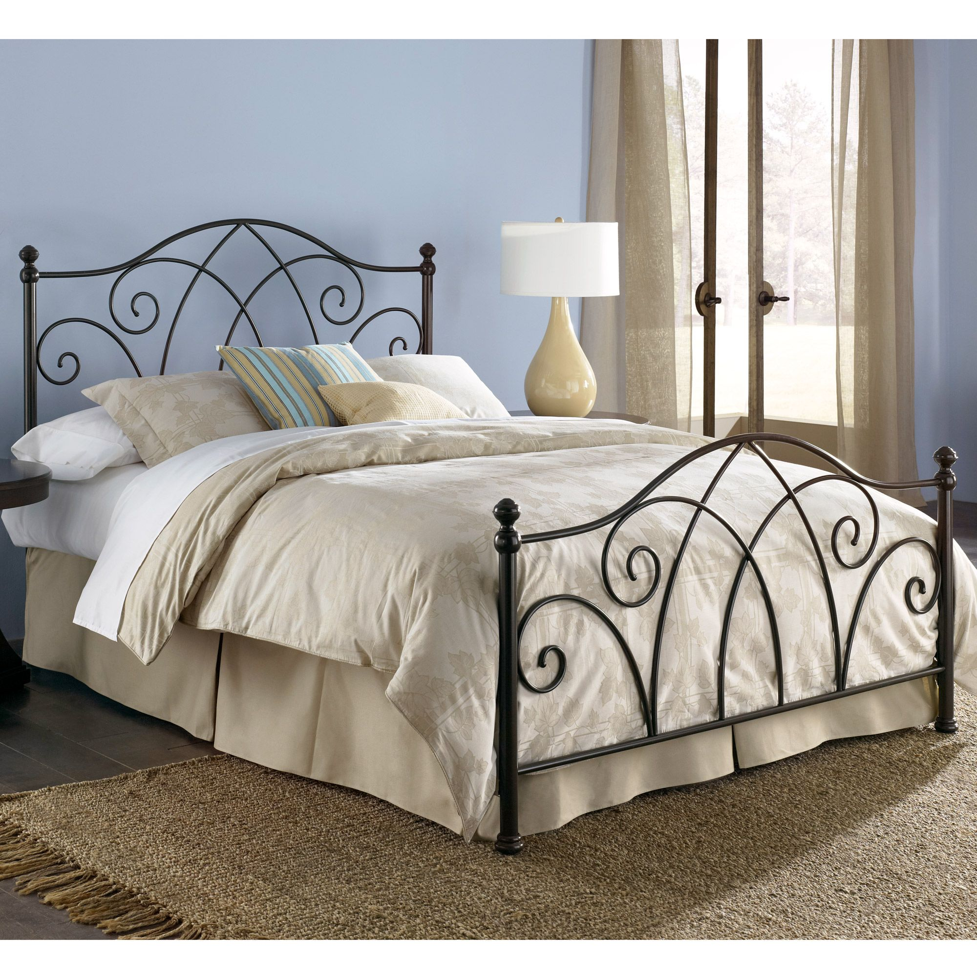 Perfect Fashion Bed Group Deland Bed   The Deland Bed Uses Traditional Wrought Iron  To Dress Up Your Master Bedroom. This Headboard Has A Classic Shape Made Of  ...