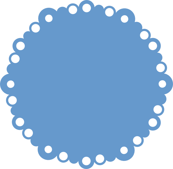 Free Scallop Circle Png Download Free Clip Art Free Clip Art On Clipart Library Circle Template Simple Scrapbook Free Clip Art