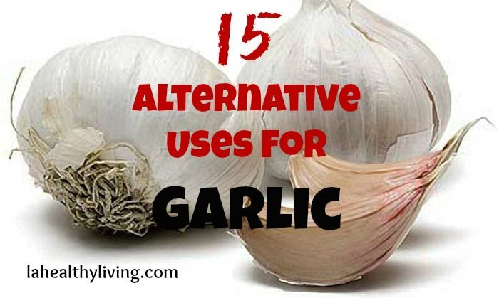 15 Alternative Uses For Garlic
