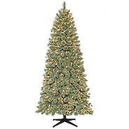 Sears Prelit Christmas Trees.Ty Pennington Style 7 5 Ft Clear Pre Lit Harrison Cashmere