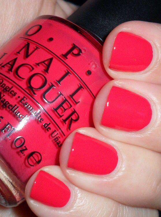 Opi Cajun shrimp | Nails nails | Pinterest | Esmalte, Maquillaje y ...