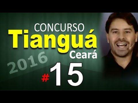 Concurso Tianguá CE 2016 Ceará Informática # 15 - Cargos nível médio com...
