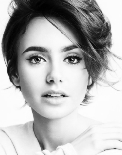 Lily For Lancome Lily Collins Short Hair Styles Hair Inspiration