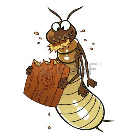 Vector Ant Termite Eats Wood Termite Control Termites Art