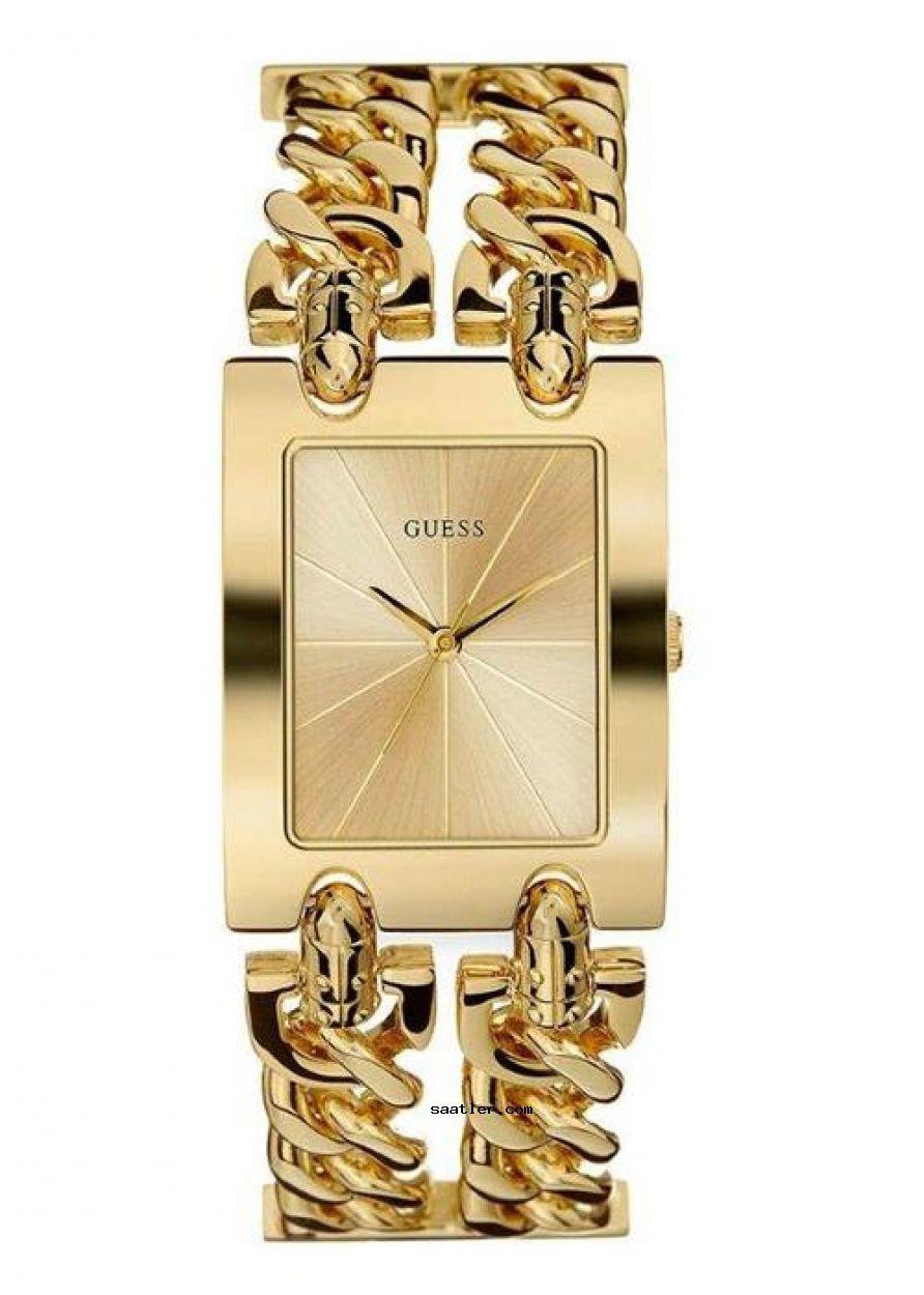 Guess Guw0311l2 Bayan Kol Saati Guess Watch Gold Bracelet For Women Bracelet Watch