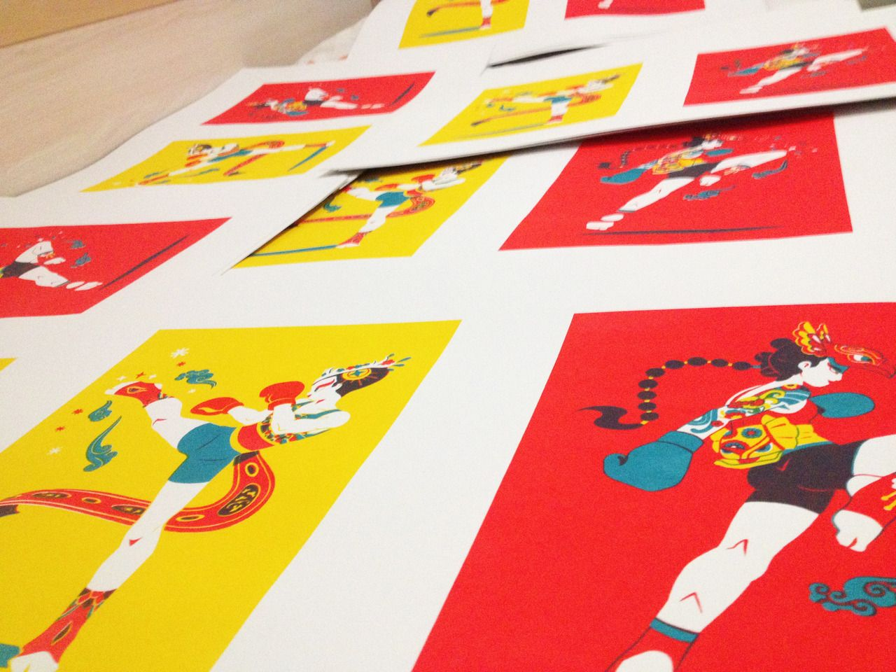 MAIRI — Serigraphy/screen printing project. Belongs to...