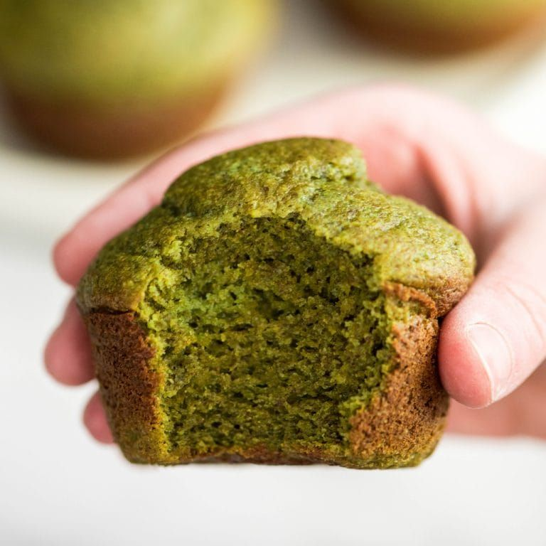 These Blender Spinach Banana Muffins Are An Easy Healthy Freezer