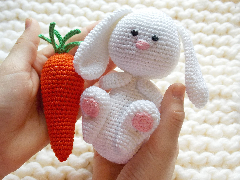 Easter gift bunny rattle crochet carrot rabbit crochet toy baby easter gift bunny rattle crochet carrot rabbit crochet toy baby rabbit negle Gallery