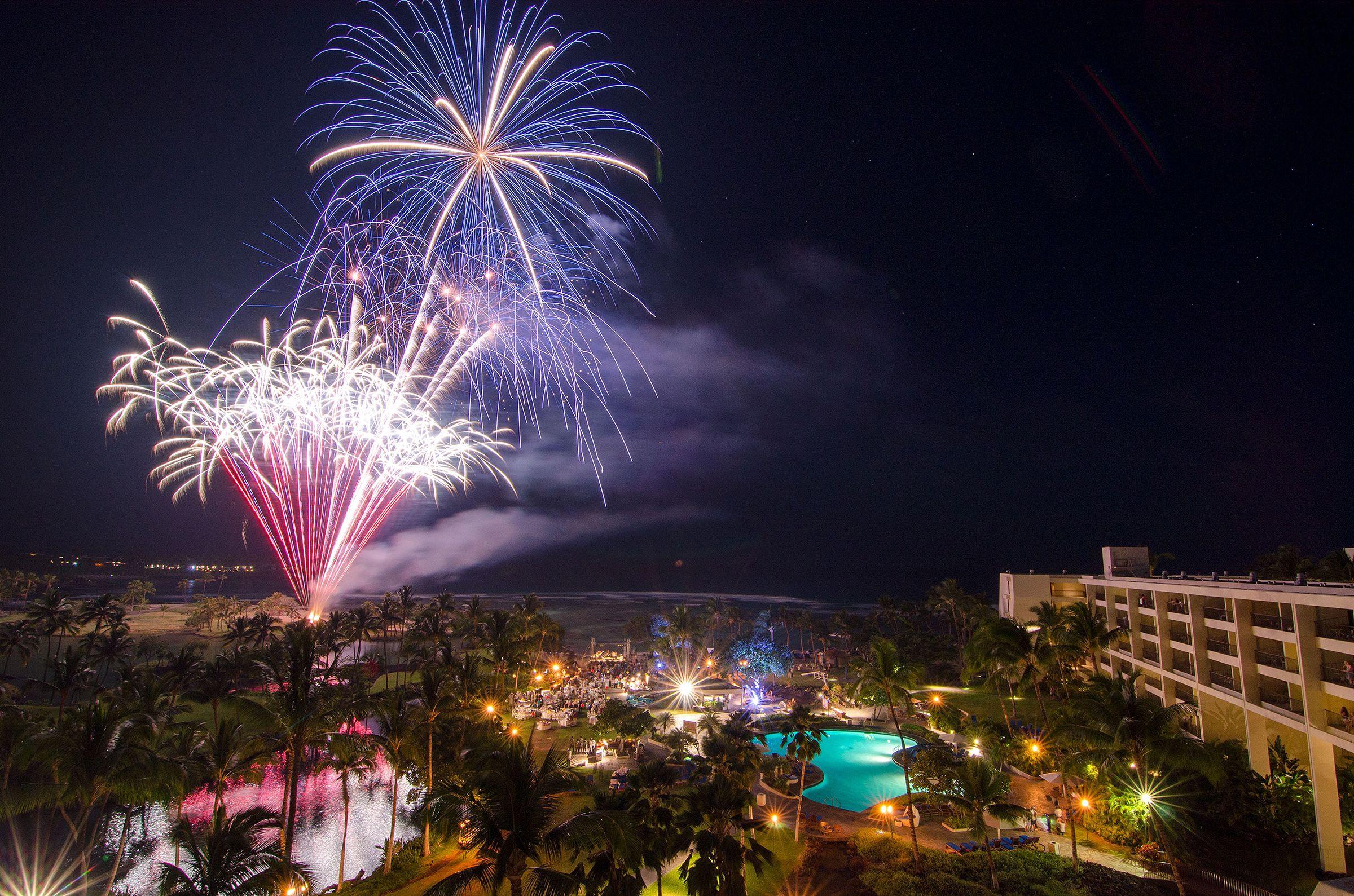 Hawaii Big Island New Year's Eve Fireworks & Celebrations