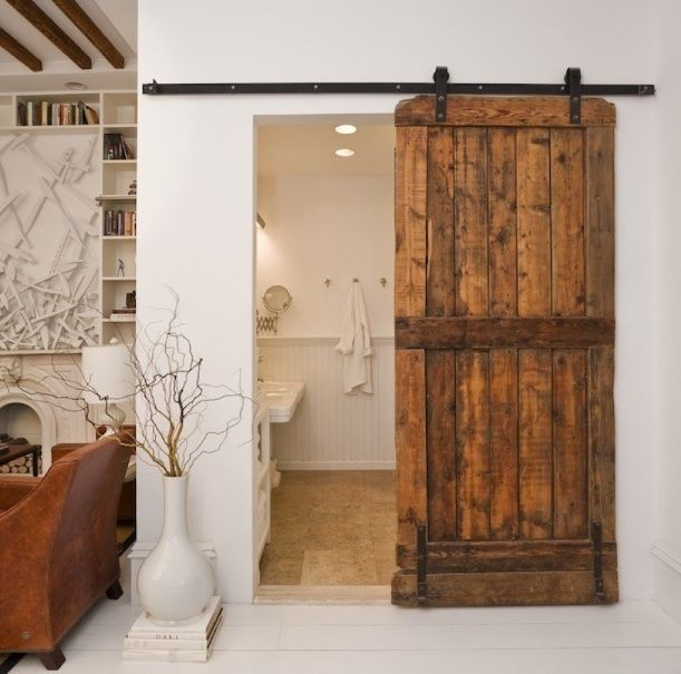Antique Barn Bathroom Doors For Small Spaces Decolover Net Rustic Doors Interior Home House Styles