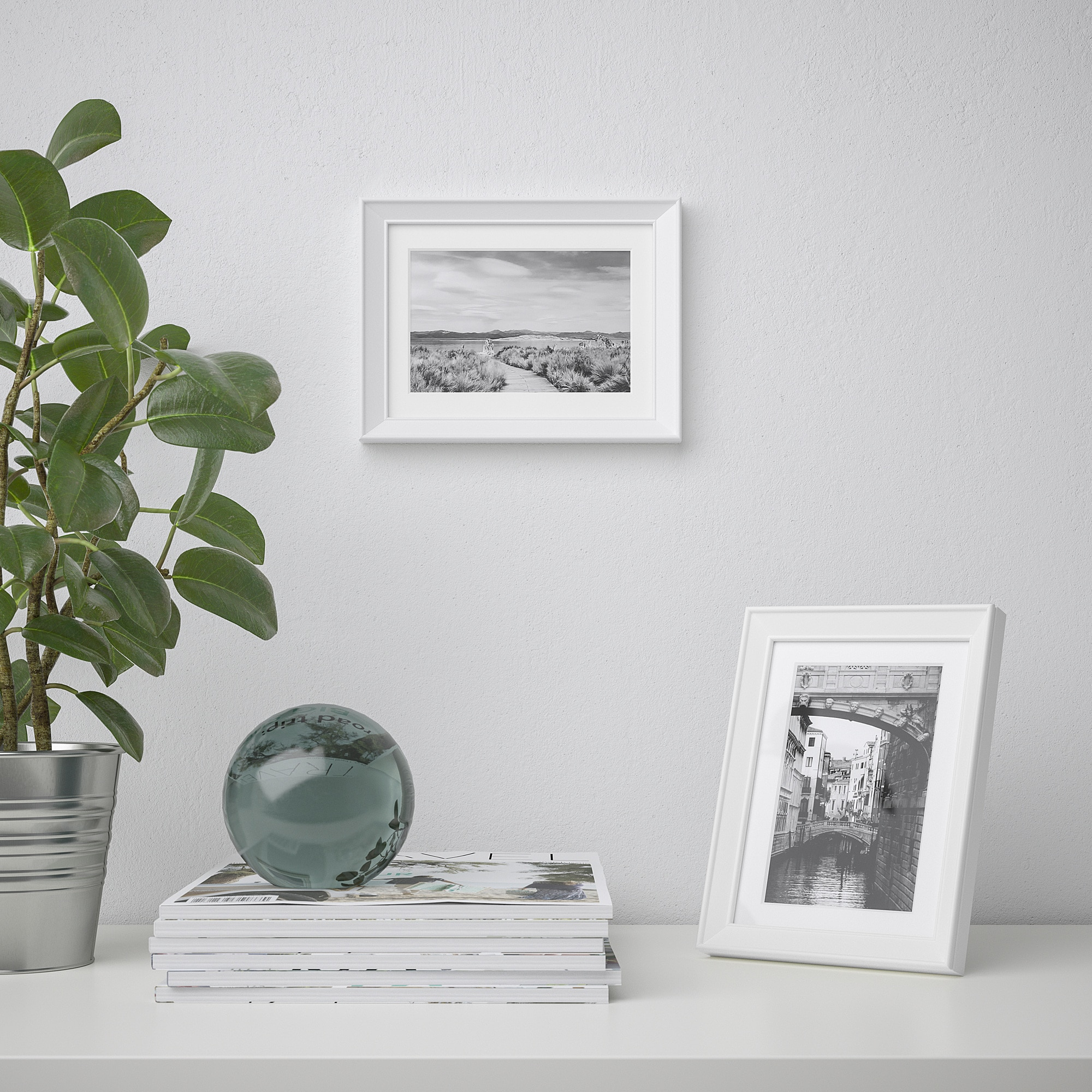 KNOPPÄNG Rahmen weiß | Ikea, Fotorahmen und Ikea rahmen