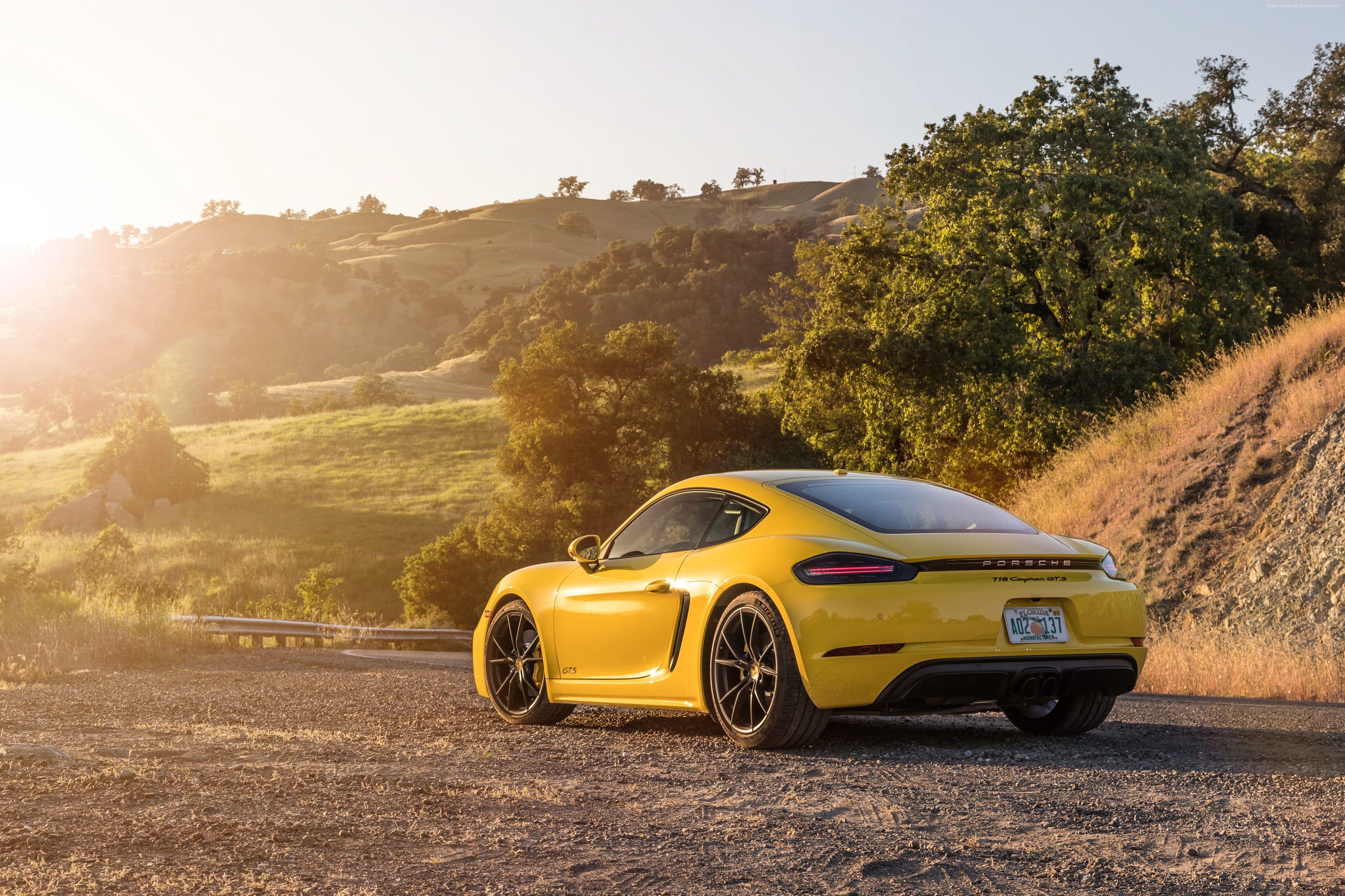 4k 2019 Cars Porsche 718 Cayman Gts 4k Wallpaper Hdwallpaper Desktop Best Luxury Sports Car Porsche 718 Cayman Gts Cayman Car