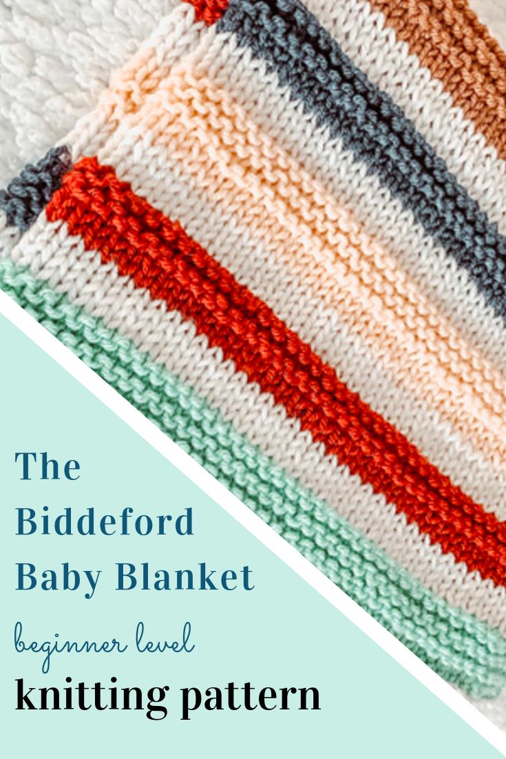 Ravelry: Biddeford Baby Blanket Knitting Pattern #babyblanket
