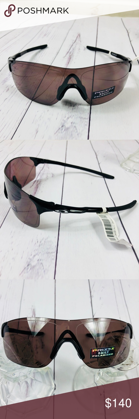 5523cfea89 Oakley Evzero Pitch polarized GLASSES OAKLEY EVZERO PITCH POLISHED BLACK  PRIZM DAILY POLARIZED New condition with tags never used com…