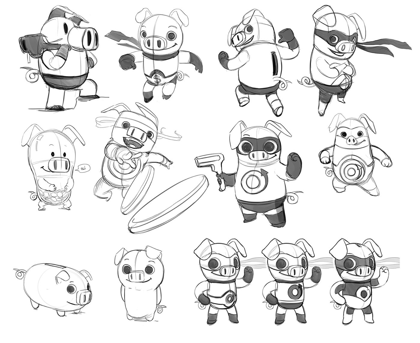 SUPER 10 - character and enviroments design on Behance