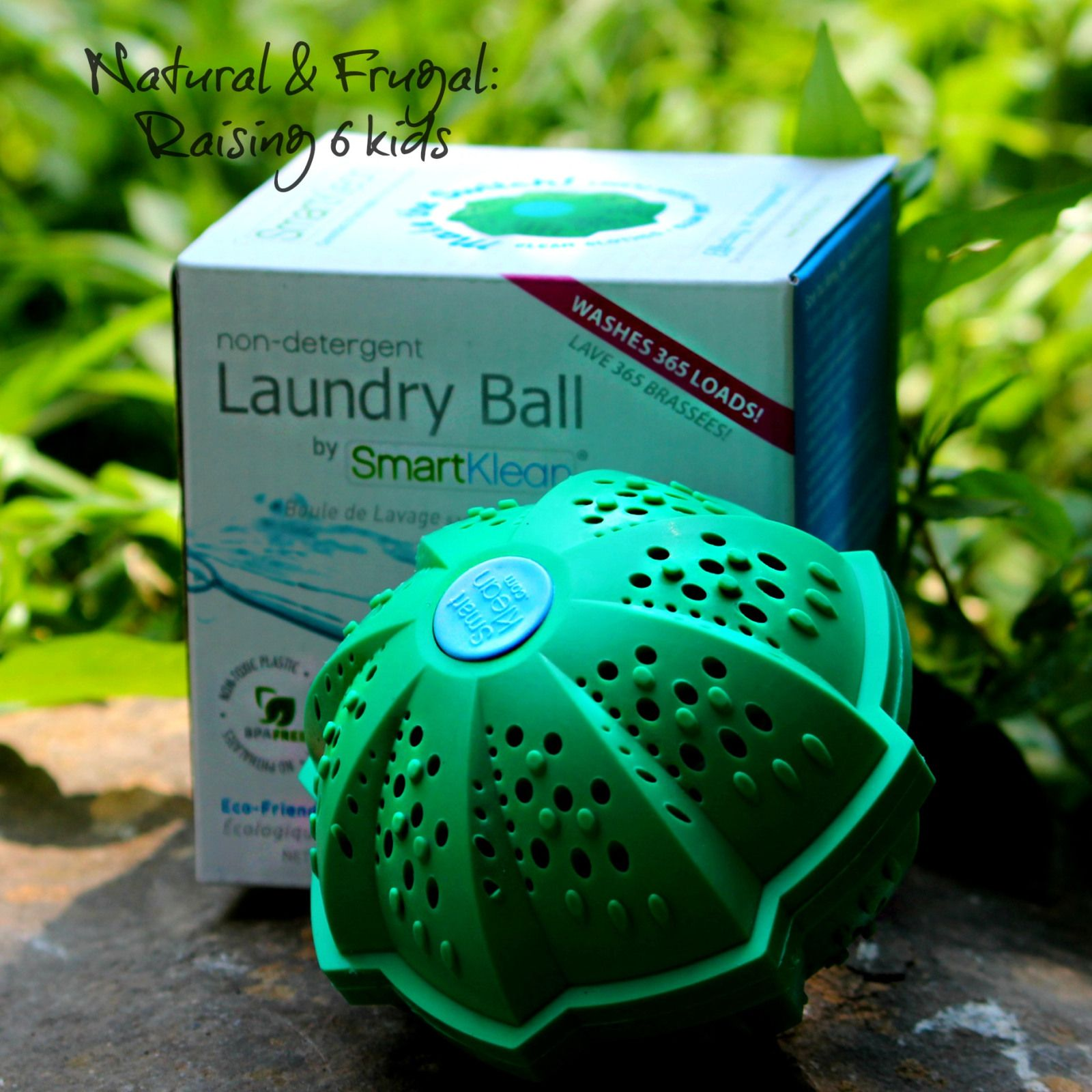 How to Order a SmartKlean Laundry Ball - Free S&H blog post Affiliate---- Natural & Frugal: raising 6 kids --- Buy a Landry Ball ---- NFR6K