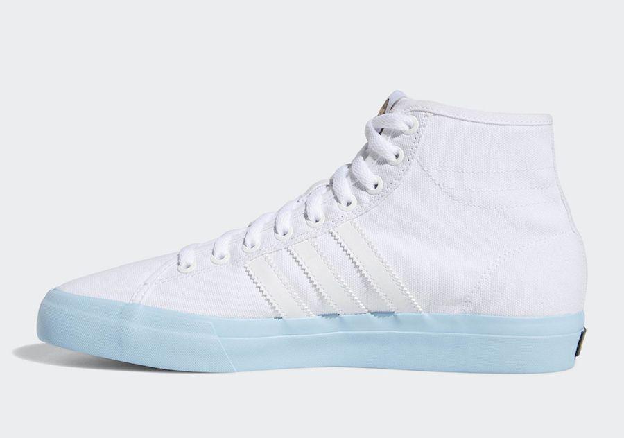 hot sale online a78e6 69e1d Beavis and Butt-Head adidas Matchcourt Hi DB3379 Release Date Dress With  Sneakers, High